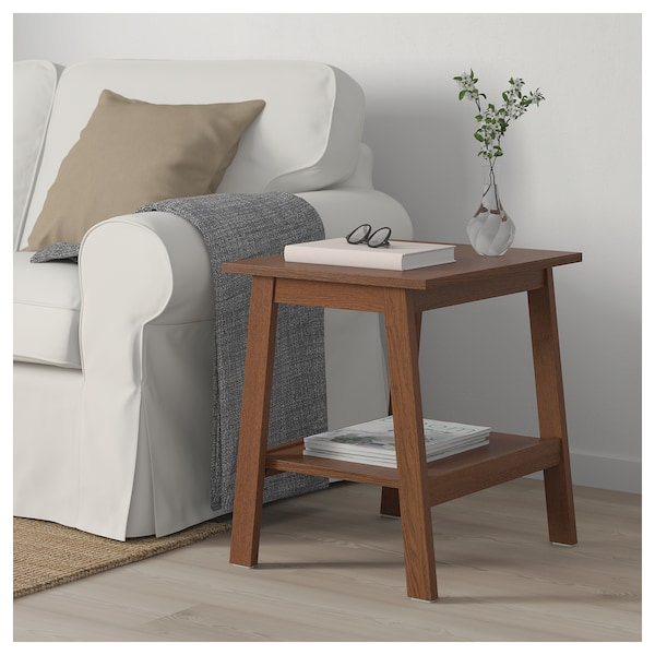the latest f549a 7284a Side table LUNNARP brown