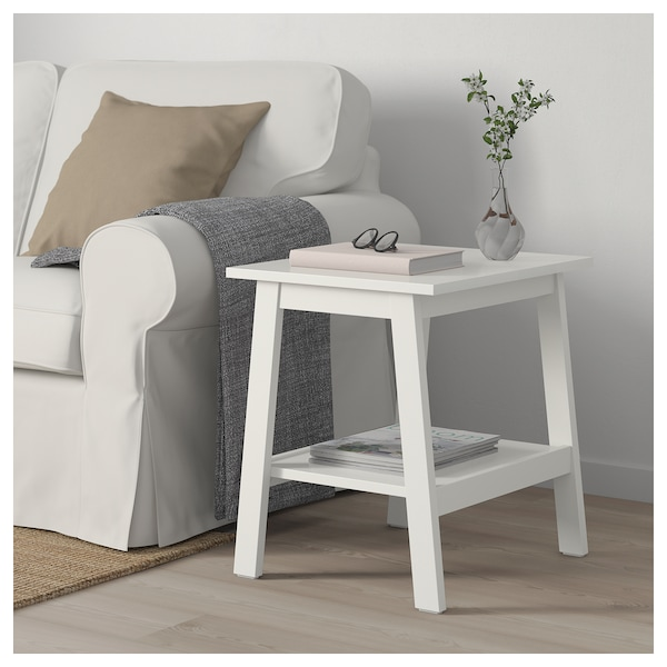 on sale 32890 e4952 Side table LUNNARP white
