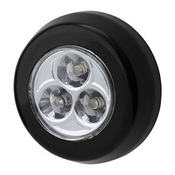 RAMSTA LED minilamp, battery-operated black