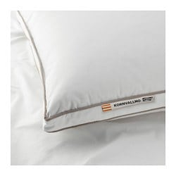 KORNVALLMO pillow, firmer