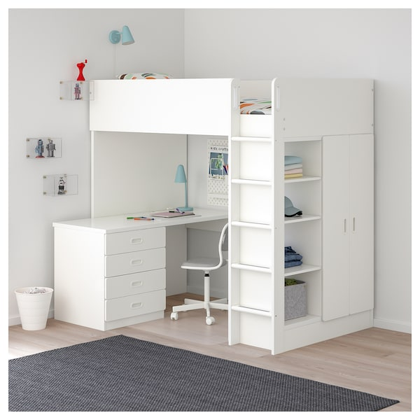 IKEA STUVA / FRITIDS Loft bed with 4 drawers/2 doors