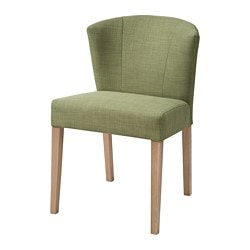 KARLERIK chair, oak, Skiftebo green