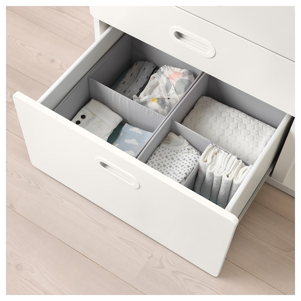 390c4c3b3323 STUVA / FRITIDS Changing table with drawers - white, white - IKEA