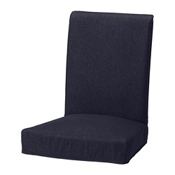 HENRIKSDAL chair cover, Vansta dark blue