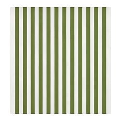 SOFIA fabric, broad-striped, green/white