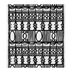 REVVIVA fabric, white/black