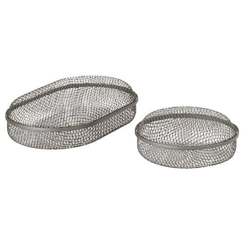 IKEA SAMMANHANG Box with lid, set of 2