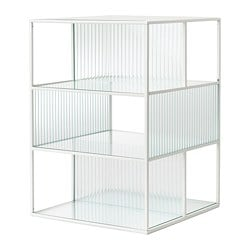 SAMMANHANG, Display box, white, glass