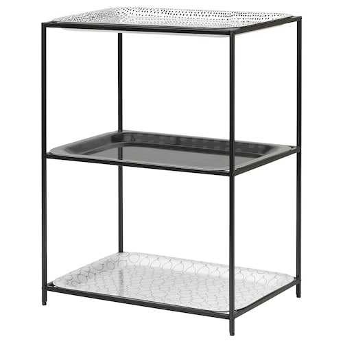 IKEA SAMMANHANG Tray stand with trays