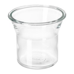 IKEA 365+ bocal, rond, verre