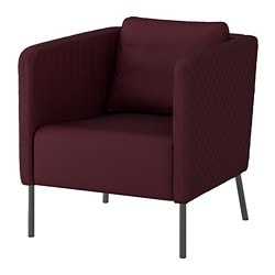 EkerÖ Armchair Idekulla Dark Red