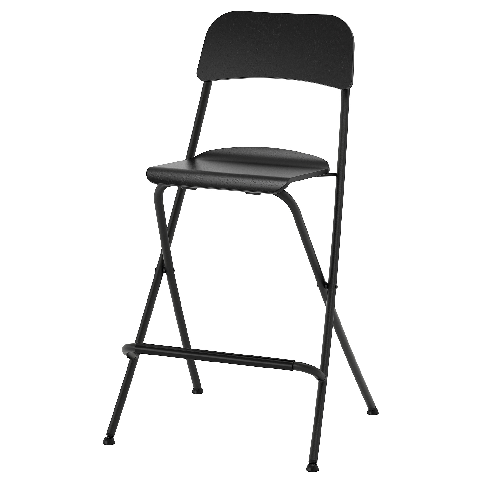 Franklin Bar Stool With Backrest Foldable Ikea