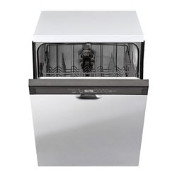 RENLIG built-in dishwasher, Stainless steel