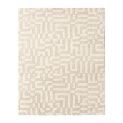 FAKSE rug, high pile, off-white