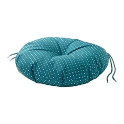 YTTERÖN chair cushion, outdoor, blue