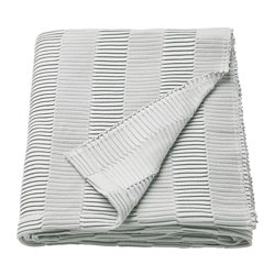 VÄGMÅLLA throw, light grey