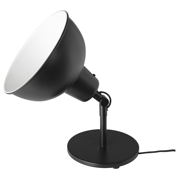 Skurup Lampe De Table Applique Noir Ikea