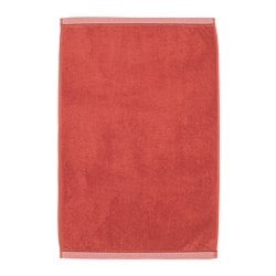 VIKFJÄRD bath mat, red
