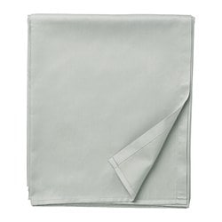 NATTJASMIN flat sheet, light grey