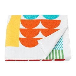 NIMMERN bath towel, multicolor