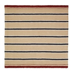 RÖDHUS rug, flatwoven, natural, multicolor