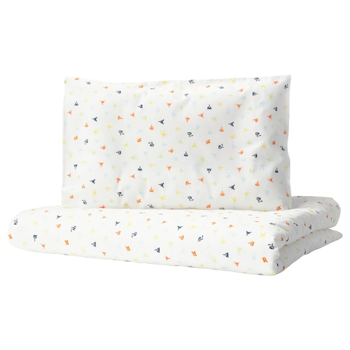 IKEA STJÄRNBILD Crib duvet cover/pillowcase