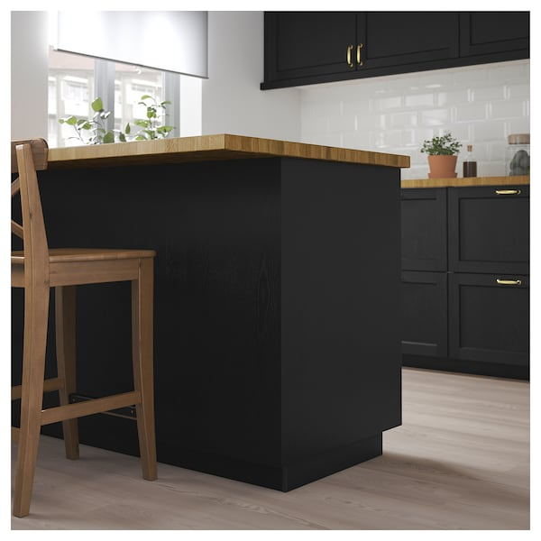 Lerhyttan Cover Panel Black Stained Ikea