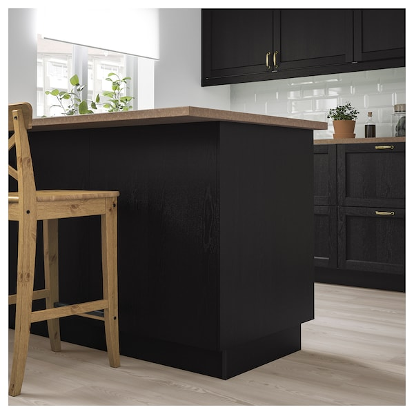 Lerhyttan Cover Panel Black Stained