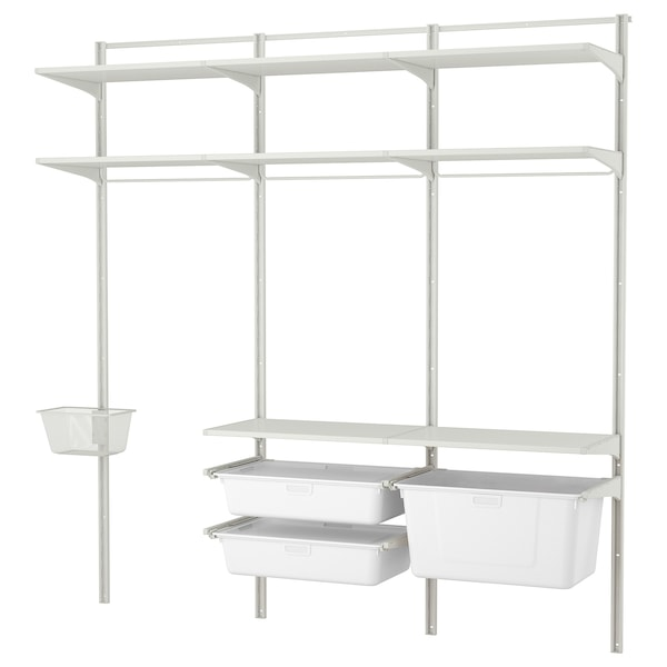 IKEA ALGOT Wall upright/shelves/box