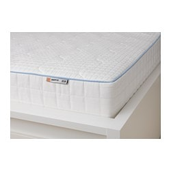 Knapstad Memory Foam Mattress Medium Firm White