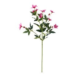 SMYCKA artificial flower, Pasqueflower pink, pink