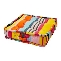 URSPRUNGLIG floor cushion, stripe
