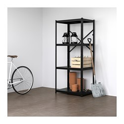BROR, Shelving unit, black