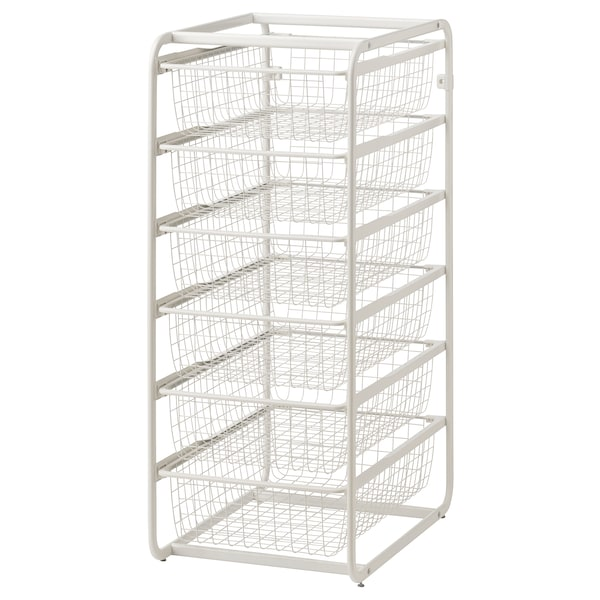 Ikea Algot Frame With Wire Baskets
