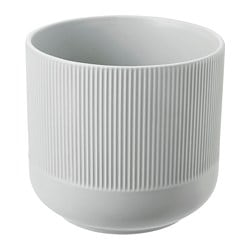 GRADVIS plant pot, grey