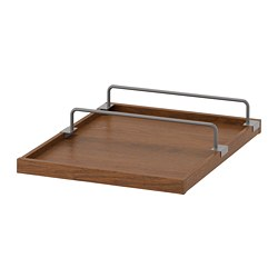 KOMPLEMENT Pull-out tray with shoe rail