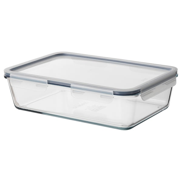 Ikea 365 Food Container With Lid Rectangular Gl Plastic 3 1 L