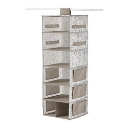 Storbe Hanging Storage With 7 Compartments