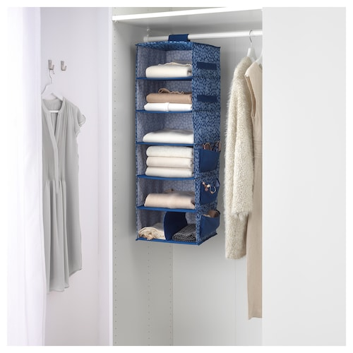 IKEA STORSTABBE Hanging storage with 7 compartments