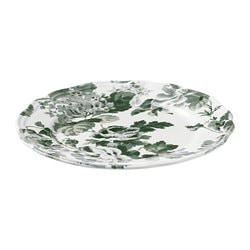 ARV side plate, white, green