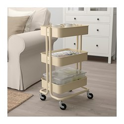 Good RÅSKOG Utility Cart, Beige