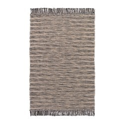 TAULOV vloerkleed, glad geweven, beige