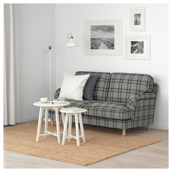 stocksund 2er sofa segersta bunt hellbraun holz ikea. Black Bedroom Furniture Sets. Home Design Ideas