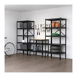 BROR storage combo with shelves+cart