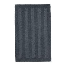 EMTEN bath mat, dark grey
