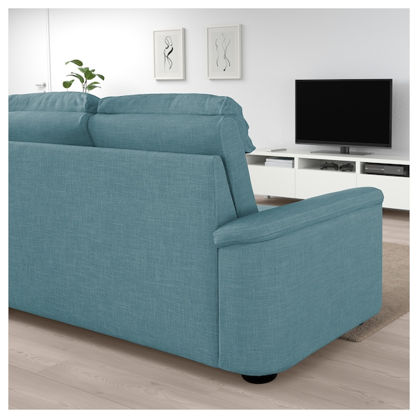 lidhult 3er sofa gassebol blau grau ikea. Black Bedroom Furniture Sets. Home Design Ideas