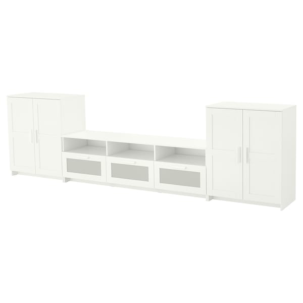Tv Storage Combination Brimnes White
