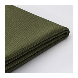 VALLENTUNA cover for backrest, Orrsta olive-green