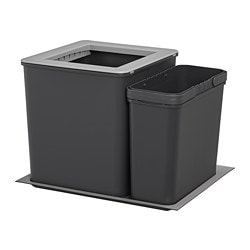 EBBEBO waste bins for cabinet with drawer