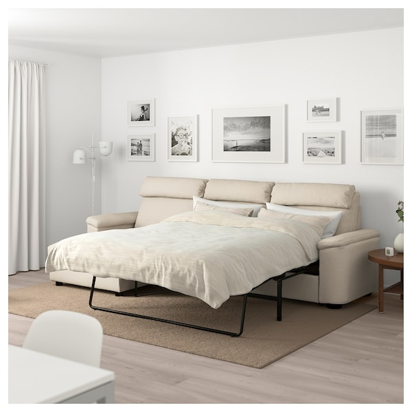Lidhult 3 Seat Sofa Bed With Chaise Longue Gassebol